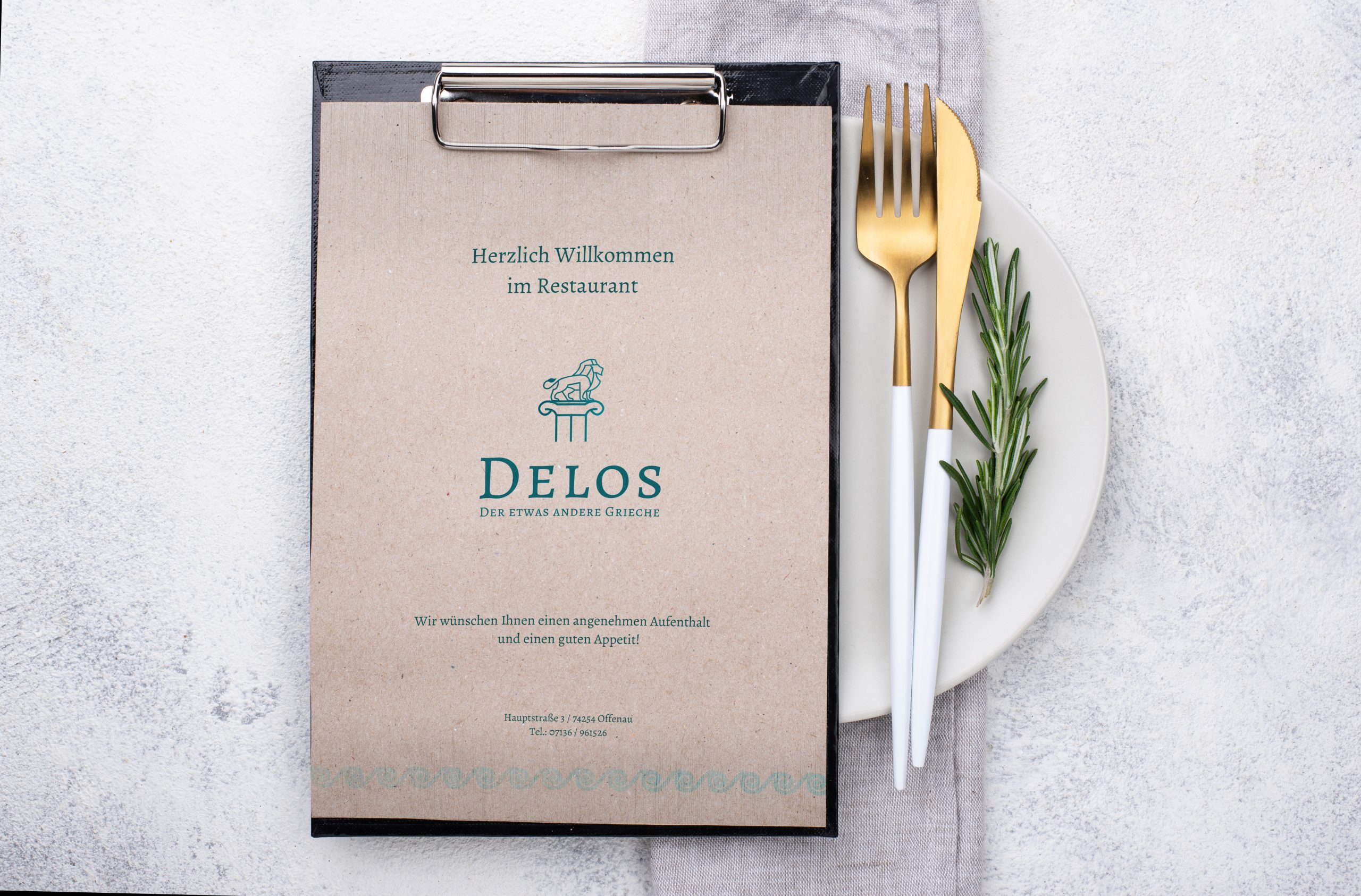 NEW PROJECT: Delos Restaurant